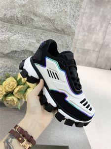 Prada Mens Designer Schuhe hococal chaussures Luxus Cloudbust Donner Espadrilles Arthur Sneakers weiß Top-Qualität populäre Art und Weise Frauen Schuhe