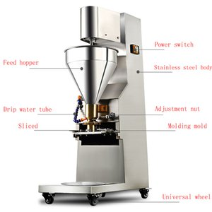 Hot Selling Stainless Steel Stuffed Fish Ball Beef Ball Pork Balls Meatball Shaping Machine Factory Direct Supply