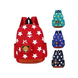 Amazing2019 A Children Bag Child Kindergarten 2 Class 4 Lovely 5 Male Girl Baby Both Shoulders Mochila 1-3-6 Un año completo de vida