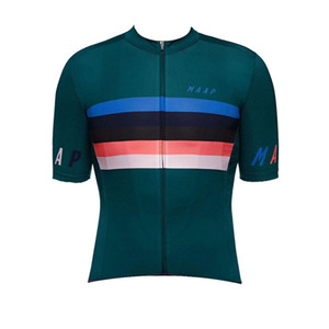 Equipo de MAAP hecho a medida Hombres manga corta cómoda y transpirable verano mtb deportes Jersey Ciclismo mangas cortas jersey S71780