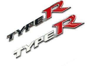 سيارة التصميم 3D سبائك معادن نوع R من نوع ملصقا لهوندا سيتي CR-V XR-V HR-V اتفاق FIT جاز تيار Crider مدينة Greiz CIVIC Spirior