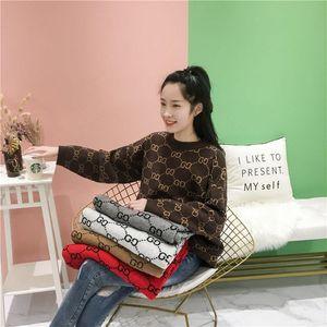 2019 autumn winter new Korean version loose student languor lazy wind imitation alpaca outer wear joker pullover age-reducing women's s