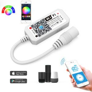 Светодиодный контроллер, WI-FI RGB контроллер для смарта светодиодных лент Lights, Более 64 LED Strip Collaborations, диммирования цвета, закат Будильник