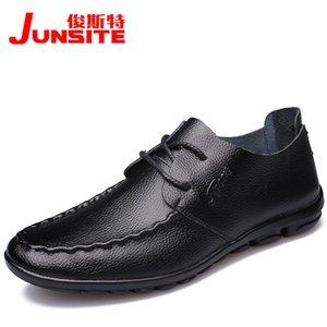 Crystal2019 Special Adams Jun Cómodo Doug Shoe Drive Shoe Tiempo libre Zapatos de cuero Zapatos masculinos