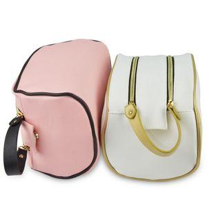 2020 Designer Cosmetic Bag Double Zipper Large Capacity Travel Waterproof PU Wishing Bag Holiday Travel Handbags