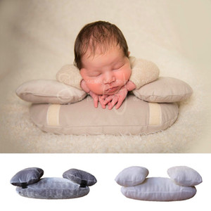 3 pçs / set Recém-nascido Posando Fotografia Adereços Bebê Posando Travesseiro Acessórios de Posicionador Recém-nascido Almofada Do Bebê Travesseiro Cesta de Almofada J190517