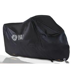 210D Poeira UV Protector Sun Neve Chuva Motocicleta impermeável prova Cobre casaco para Laser Yamaha Tampa