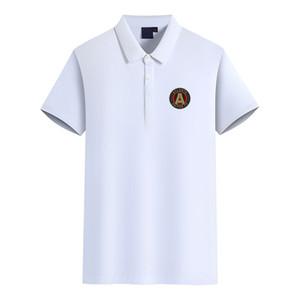 Atlanta United FC 2020 esportes negócio dos homens de manga curta casuais verão nova camisa polo tamanho grande pode ser DIY polo dos homens da moda