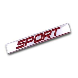 10 штук Спорт Логотип Square Bar цинковый сплав автомобилей Стайлинг герба Знак Авто установка 3D Наклейка Наклейка для VW Lavida