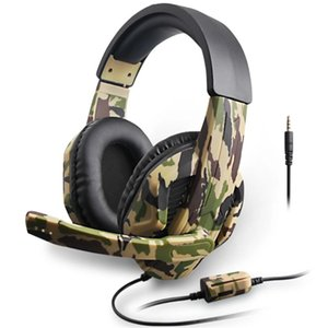 le plus récent Camouflage Gaming Headset pour PS4 / Xbox One / Xbox 360 / Nintendo Switch / PC
