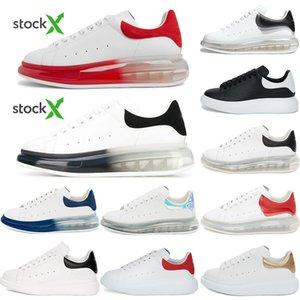 أعلى جودة 2020 رجالي الأحذية النسائية عارضة أفضل أزياء الأبيض منصة أحذية جلدية أحذية شقة في الهواء الطلق يوميا حزب اللباس مع صندوق