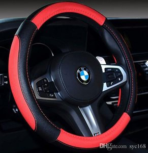 New plush steering wheel cover car steering wheel cover car inter38CM PU Non-slip Handle Car Auto Steering Wheel Cover interior Accessories