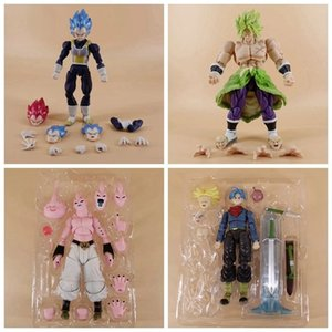 Super Saiyan Anime Torankusu Trunks Vegeta IV Buu Broli Cartoon Abbildung 14-21cm