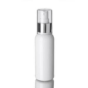 10PCS 100ML الكحول رش زجاجة فارغة وايت الجميلة ميست السفر Atomiser - ماكياج إعادة الملء قابلة لإعادة الاستخدام البسيطة زجاجات السفر