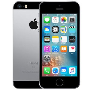 Refurbished Original iPhone SE Unlocked Cell Phone With Fingerprint 16GB 64GB A9 IOS 9 4 Inch Dual Core 4G LTE
