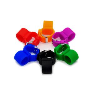 Hornet Colorful Watch Style Silicone Shisha Hose Holder For Hookah Sheesha Chicha Narguile Accessories Silicone Shisha Hose Holder DHL Free