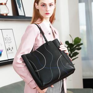 New Hot Sale дизайнер роскошных сумок кошельки европейских и американских кожаные сумки большой емкости сумка теща плечо сумка 9016