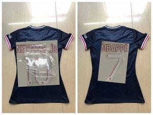 free sendShirt For Lady Top MADAM size:S-L ANDER HERRERA LADY MBAPPE VERRATT shirt women uniforms