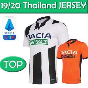 19 20 Maglia Udinese Calcio Football Jersey 2020 Accueil J.LARSEN Okaka R.DE PAUL football shirt LASAGNA Machis football uniforme thaïlande