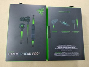 Razer Hammerhead Pro V2 Headphone in ear earphone With Microphone In Ear Gaming headsets Noise Isolation Stereo Bass 3.5mm With Package