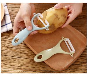 Frutta Patata Peeler Parer acciaio inossidabile di taglio della ceramica della frutta della patata Peeler Parer tagliare le verdure Peeler della cucina strumento Helper EEA932