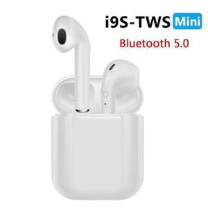 Новый i9S TWS Мини Bluetooth Наушники Беспроводная гарнитура Наушники Bluetooth 5.0 Стерео Спортивные Наушники с Микрофоном для Телефона Android