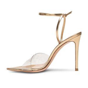 La venta caliente-Goddess2019 transparente Crossing temperamento Mujer última moda sandalias Ir Excelente Gracia
