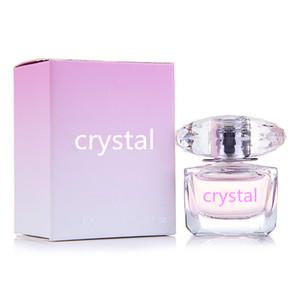2019 ساخنة المرأة 90ML عطر CRYSTAL Parfumes الجمال الدائم رائحة مزيل العرق بطعم الفواكه أو دو تواليت تواليت بخاخ البخور الحرة الشحن