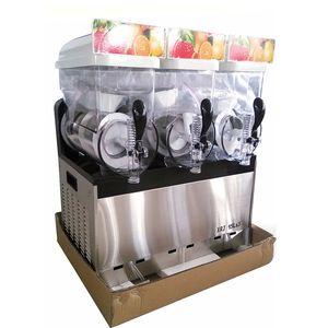 Al por mayor * 15L máquina de la nieve de fusión automático 3 / Bebida fría máquina de aguanieve máquina de hacer hielo de la máquina / arena / batidos Granita Machine