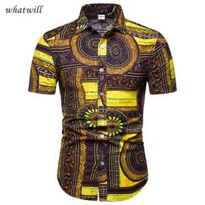 Nuovi abiti di moda africana vestono camicie hip hop africa abbigliamento casual abito africaine 3d abiti africani per le donne / uomini