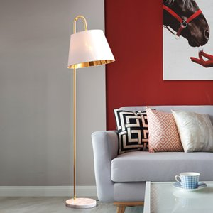Nordic Pesca Vertical Floor Lamp Criativo Sala Sala de jantar Quarto Standing Luz Decor Fixação FA050