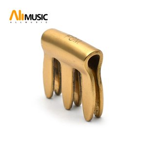 FOM Full Copper High Quality Violin Mute for Practice for 4 4 Violin