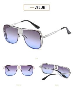 5 개 색상 선택 가능 유행 아이언 맨 DITA 남성의 금속 더블 빔 선글라스 안경 방풍 골드 프레임 실버 프레임 선글라스