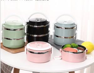 Edelstahl Multi-Schicht isoliert Student Lunch box portable versiegelt Lunch-Box-Kühler