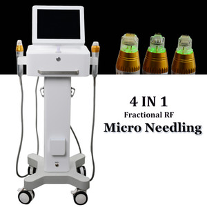 2019 Nuovo Microneedle Skin Roller Trattamento Anti Invecchiamento Micro Aghi Macchina Collagen Induction Therapy Fractional RF Skin Tightening