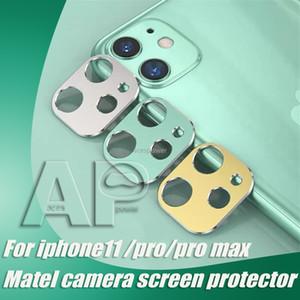 Colorful Back Camera Lens anello in vetro temperato per Iphone 11 Pro Max Huawei Mate 30 Pro protezione della pellicola del metallo della lega del telefono di protezione