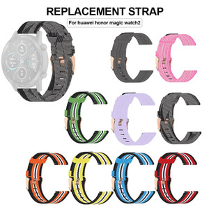 22mm New High Quality Replacement Watch Strap Comfortable Multi-color Denim Canvas Watchband For Huawei Honor Magic Watch2