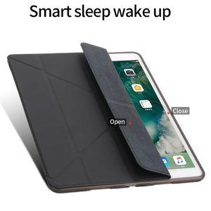 Ipad Case Silicone Soft Back For iPad pro 10. 5 2019 Case ipad23 10.2 mini4 5 Pu Leather Smart Cover Case