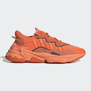 2020 clássico Orgulho barato 3M reflexiva Xeno Ozweegohococal para as Mulheres Homens Casual Shoes Neon Verde Época Pacote instrutor das sapatilhas esportivas