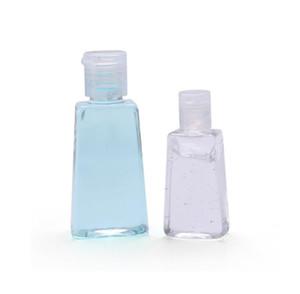 30ml 60ml trapezoidale monouso mano gel disinfettante per le mani la bottiglia di viaggio Mini Bottiglia di plastica vuota con il flip trucco Cap Shampoo bottiglie SN3044