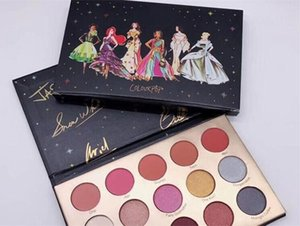 In stock Colourpop eye shadow COLOURPOP X 15 colors eye shadow Shimmer Matte eyeshadow palette DHL free shipping