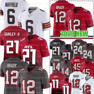 12 Tom Brady Jersey 21 Todd Gurley II 87 Rob Gronkowski TampaDefneKorsan 45 Devin Beyaz AtlantaFalcon Julio Jones Matt Ryan