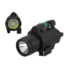 M6X New Compact Tactical Red Green Laser Sight Pistol LED Flashlight Accessories Laser Light for Standard Rail