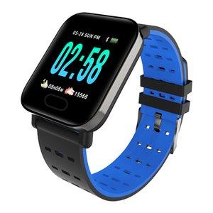 Para Huawei Honor 10 9 8 Lite 8x máx 7x V20 V10 Nova 4 3 2 Plus inteligente pulsera de la pulsera del ritmo cardíaco rastreador de ejercicios inteligente Deportes