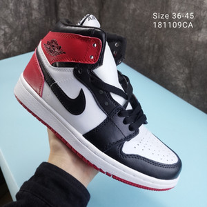 2020 Air Shoes NakeskinJordanAJ1Aj1Sneakers Men Women Fly Basketball Sneakers Chaussures Shattered Back Shoes