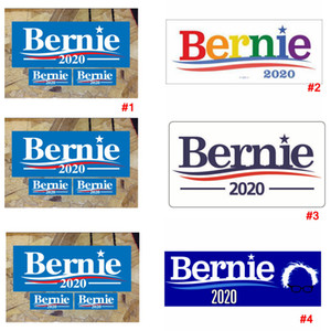 Bernie Car Sticker 10pcs lot America President General Election Trump 2020 Vehicle Paster Autocar Decoration Bumper Stickers LJJA3763-13