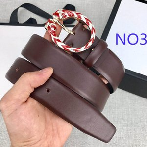 Luxury Belts Designer Belts Mens Women Fashion Belt Branded Casual G Tiger Head Smooth Buckle Leather Belt 4 Colors Width 35mm High Quality