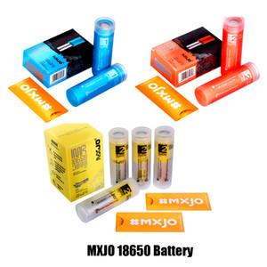 Autentica MXJO IMR18650 Battery Type 1 2 Rosso Blu Giallo IMR pelle 18650 batteria al litio 3500mAh 3500mAh 20A 35A Vape Batteria 100% originale