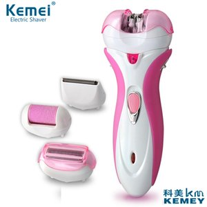 2016hot sale 4 in 1 KM-2531 Women Shave Wool Device Knife Electric Shaver Wool Epilator Shaving Lady's Shaver Female health Care