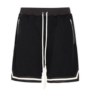 Verde Mens Shorts Basketball Sports Cinco Shorts Preto Vermelho Amarelo Anti-pilling respirável de secagem rápida soltos fitness Basquetebol Cinco Shorts